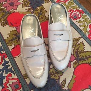AGL Loafer Slides - Gorgeous!  Size 9.5
